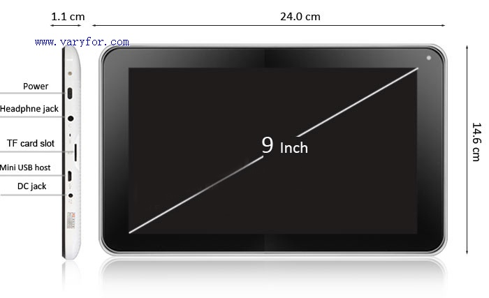 9 inch cheapest tablet pc dual camera