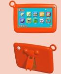 7inch kids tablet pc with silicon case